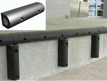 Wall Guard Rubber for Ramps and walls