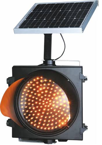 Solar Traffic Signal Blinker without Pole